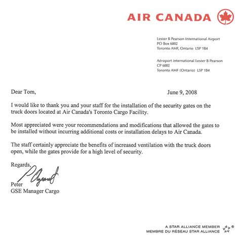 Air Canada Cover Letter by Cover Letter Writing Services Toronto Buy Original