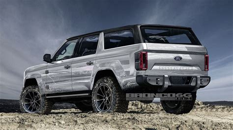ford jeep 2020 new 2020 ford bronco renderings 2018 jeep wrangler