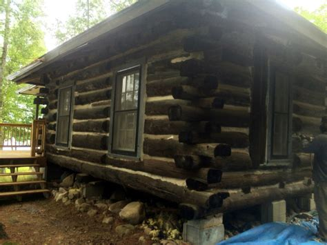 log cabin chinking log home repair when mortar chinking needs to go