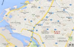 Maps Naha City Okinawa Japan