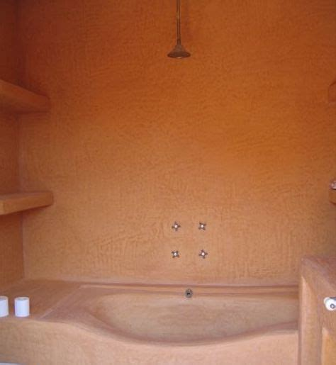 tadelakt de marrakech lahouari tahiri salle de bain en tadelakt orang 233 baignoire vasque