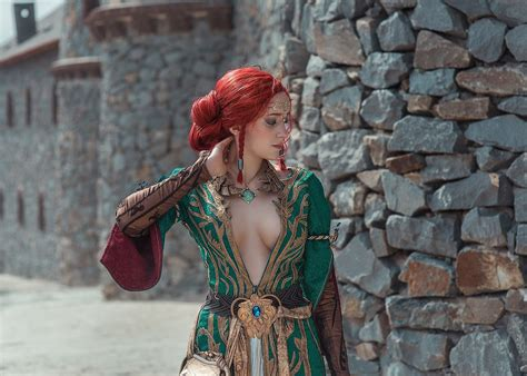 witcher  wild hunt triss cosplay  erika shion