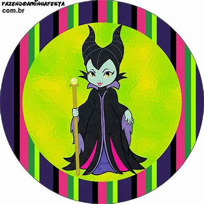 Printable Maleficent Candy Toppers Bar Labels Fiesta