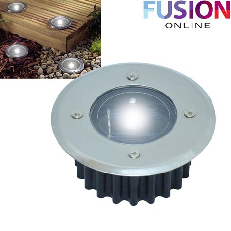 led solar powered deck lights decking garden driveway