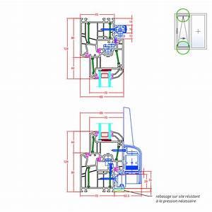 details de la fenetre pvc energeto 5000 fenetre24com With porte fenetre oscillo basculante