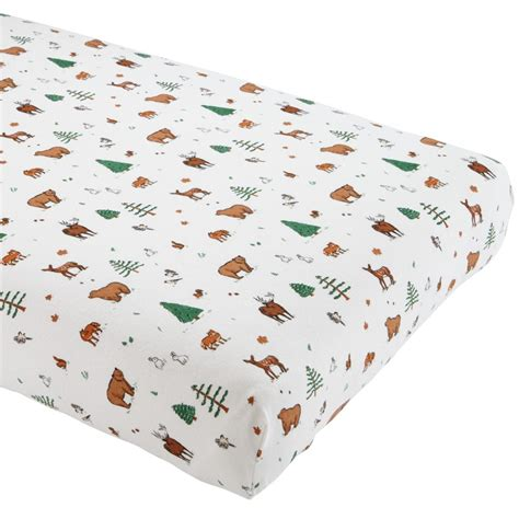 flannel crib sheets crib fitted sheets the land of nod