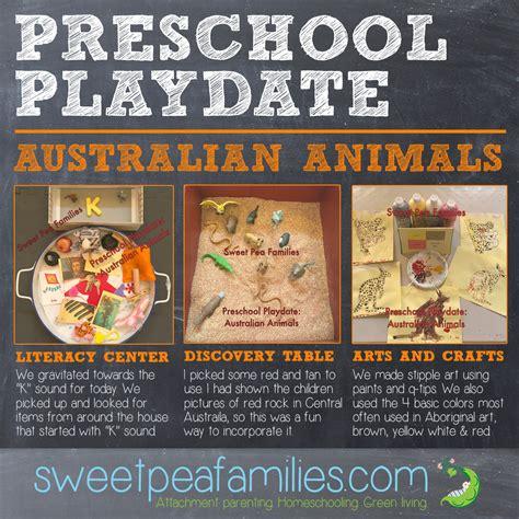 preschool playdate australian animals sweet pea families 396 | PPDaustralia
