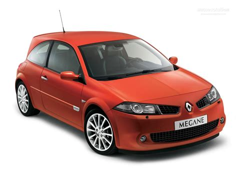 renault megane 2006 renault megane rs coupe specs 2006 2007 2008 2009