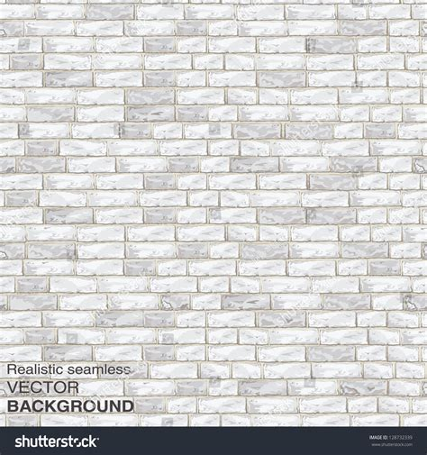 light brick wall seamless vector 스톡 벡터 128732339