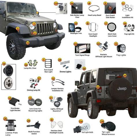 beach jeep accessories 15 best jeep jk parts diagrams images on pinterest