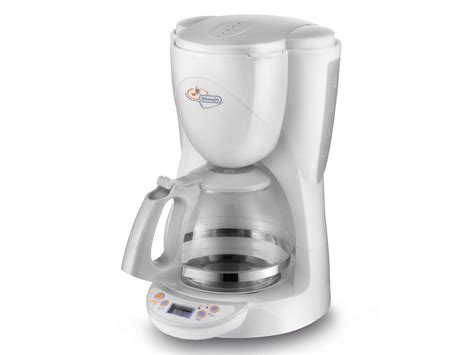 Delonghi Coffee Maker Icm4 10 Cup White Coffee Maker 220 Vietnam Coffee Filter Maker Gift Hamilton Beach 12 Cup How To Use Best Phone Number Fuse Program