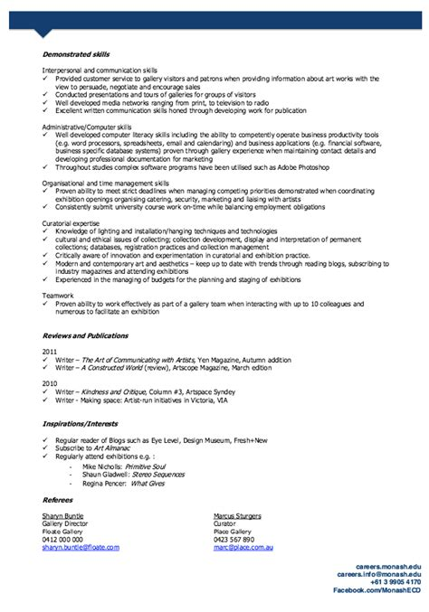 by ririn nazza free resume sle free resume sles resume sle resume templates