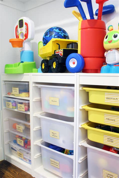 A Toy Storage Solution That Can Grow With The Kids Blue