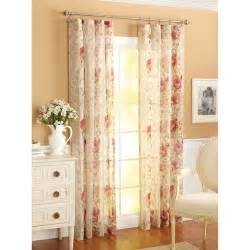 better homes and gardens roses window panel red walmart com