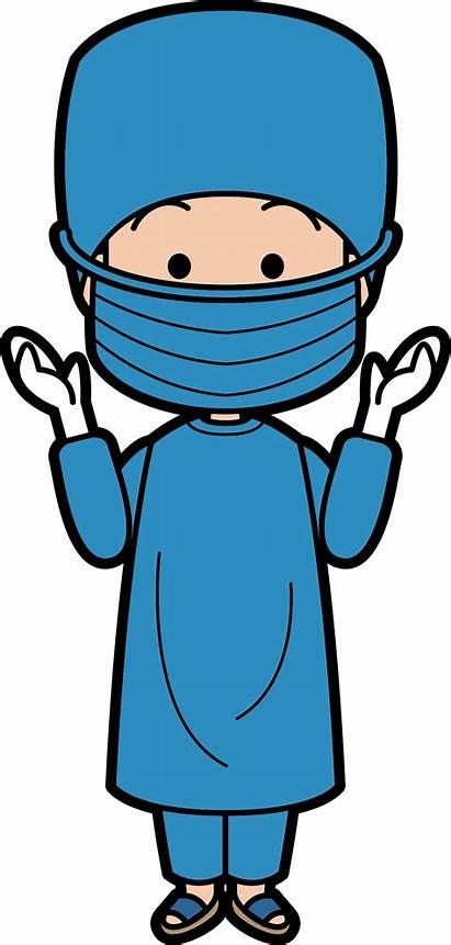 Doctor Clipart Surgeon Surgery Medicine Cartoon Character