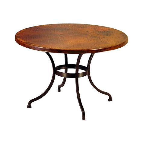 kitchen islands oak copper collection sonoran dining table cdt 30