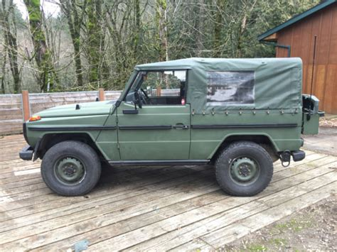 Every used car for sale comes with a free carfax report. Mercedes Benz G Wagon Diesel SWB Convertible for sale - Mercedes-Benz G-Class 1984 for sale in ...