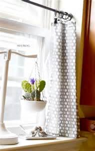 DIY Kitchen Curtain Ideas