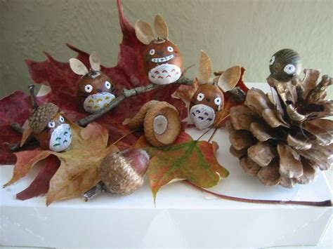 fall crafts for adults 2 fall craft acorn totoro totoro