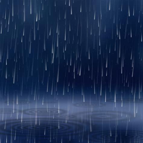 Rainy Background Rainy Days Background Vector Free