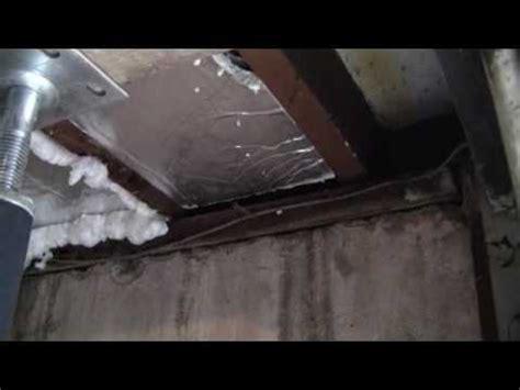 install insulation board  garage ceilingflv youtube