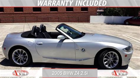how to work on cars 2005 bmw z4 lane departure warning 2005 bmw z4 for sale by anytime auto group youtube