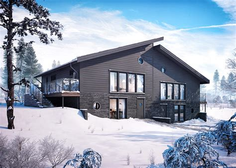 bj246rnen chalet ski in ski out beautiful interiors