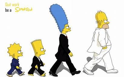 Simpsons Desktop Wallpapers Cartoon Widescreen