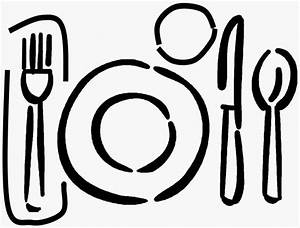 Clip Art Dinner Table Setting Clipart - Clipart Suggest