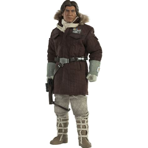 Sideshow Collectables Captain Han Solo Hoth Figure - Star ...