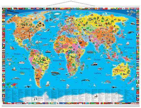 carte du monde enfant coloriage de carte du monde pour enfant