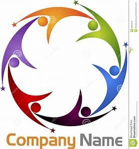 Teamwork Logo Stock Vector  Illustration Of Brand  Couple