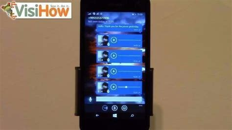 send voice messages in whatsapp on microsoft lumia 535 visihow
