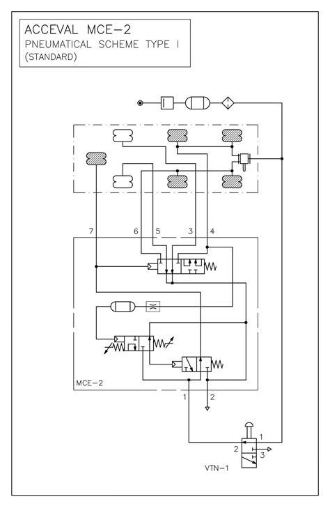 MCE - 2 Lift Axle Control Valve - Lift Axle System