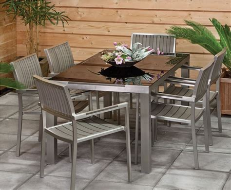 Inexpensive Outdoor Dining Sets by Outstanding Outdoor Metal Table Set Garden Tables And