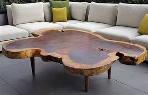 parota wood coffee tables custom made in mexico With unusual wood coffee tables