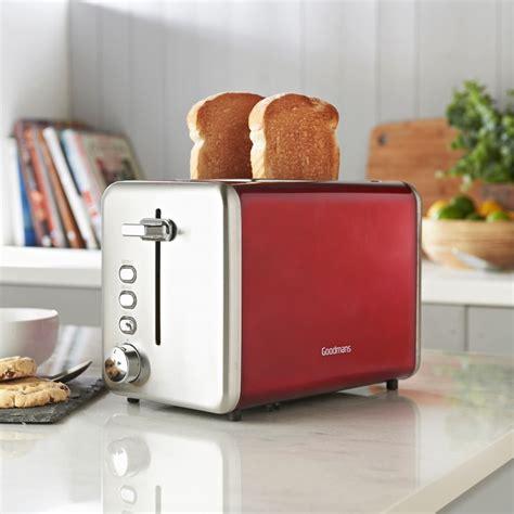 goodmans  slice stainless steel toaster kitchen bm
