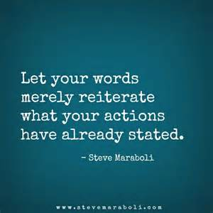 Steve Maraboli Quote Action