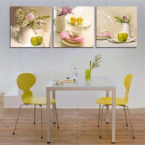 tableaux pour cuisine cuisine à la décoration printanière inspirée par les