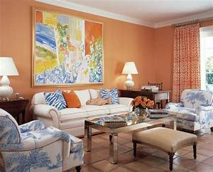 25 ideas for modern interior decorating with orange color for Interior design color for living rooms