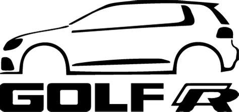 VW Golf R Vinyl Sticker ? SykVinyls.com