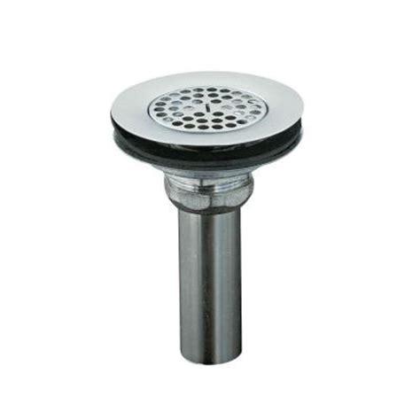 kohler 4 1 2 in sink strainer in chrome k 8807 cp the