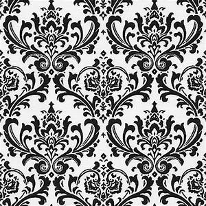 Black and White Dance Floor Design
