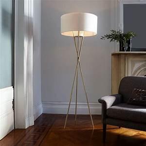 Mid-century, Tripod, Floor, Lamp