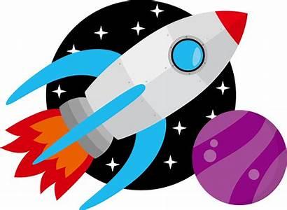 Rocket Space Clipart Graphic Clip Spaceship Ship