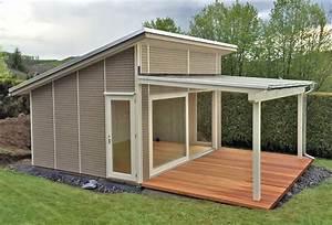 Gartenhaus Mit Glasfront : gartenhaus mit glasdach und schiebet r pollmeier holzbau gmbh ~ Markanthonyermac.com Haus und Dekorationen
