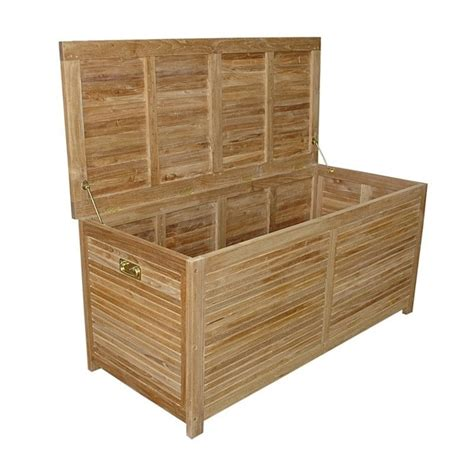 teak camrose outdoor storage box cabinets in