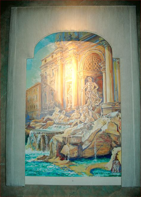 michael  romeo assoc murals trompe loeil