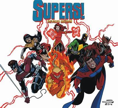Rpg Supers Comic Revised Edition Bringing Forward