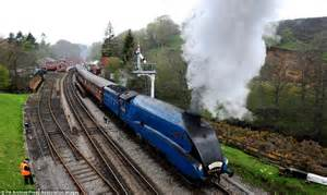 Reunited one last time - six of Britain's greatest steam ...
